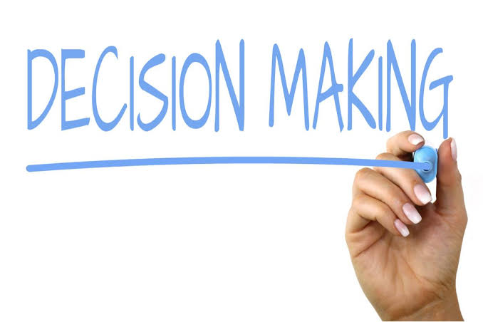 DECISION MAKING IN 2019