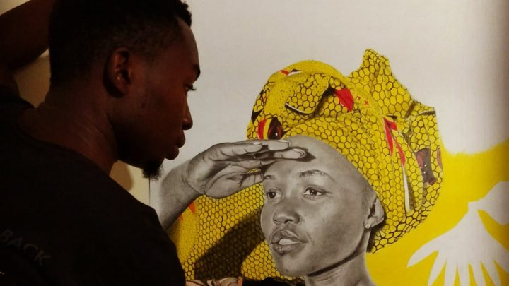 One on One With Jonewa, the African Artist
